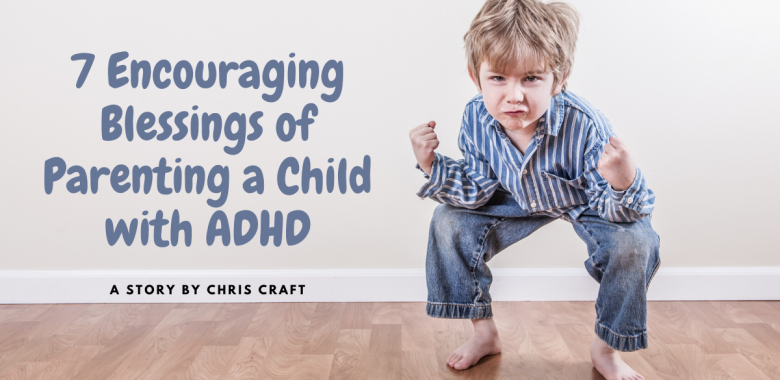 young child squatting - parenting a child with adhd