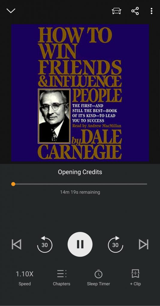 How to Win Friends and Influence People on Audible