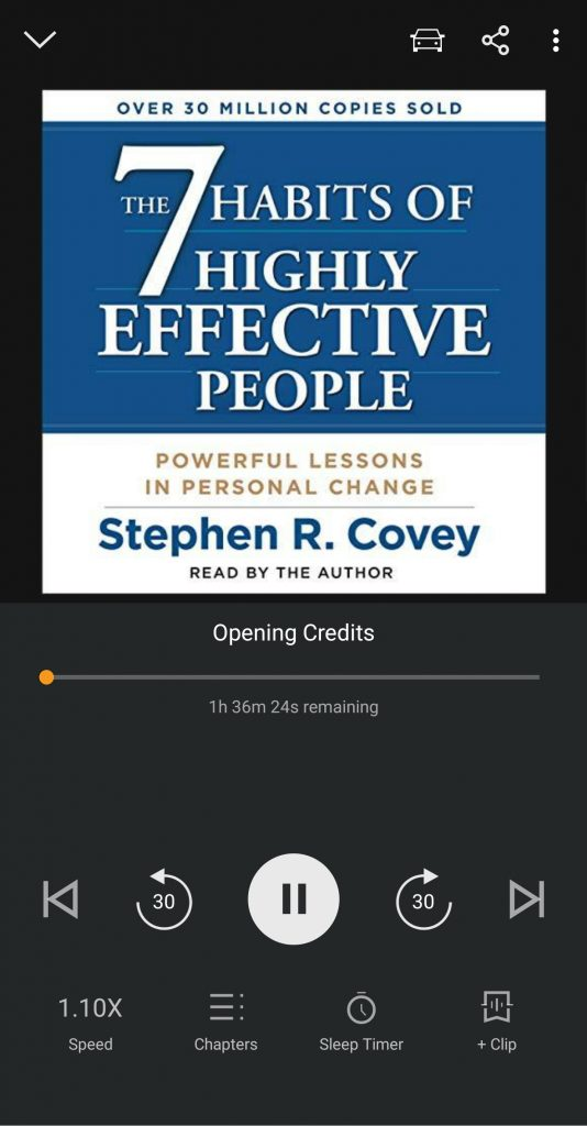 The 7 Habits of Highly Effective People on Audible