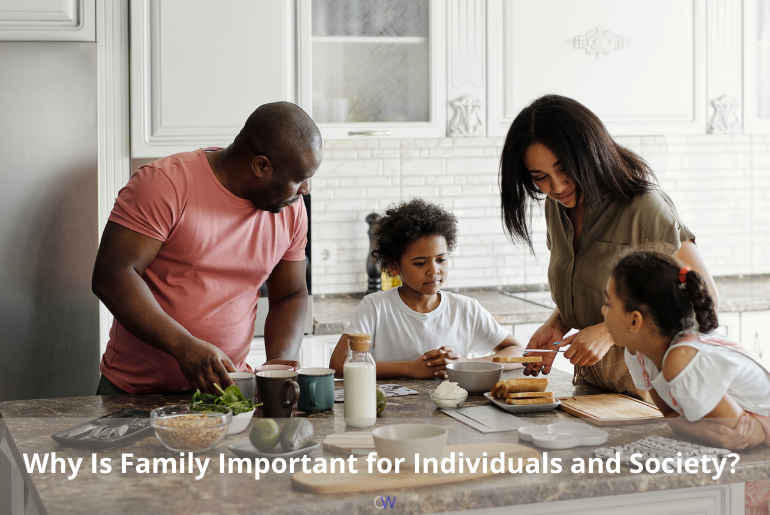 Why is family important? A family spending time together is a good thing.
